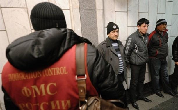 Сотрудники полиции провели рейд против нелегальных мигрантов