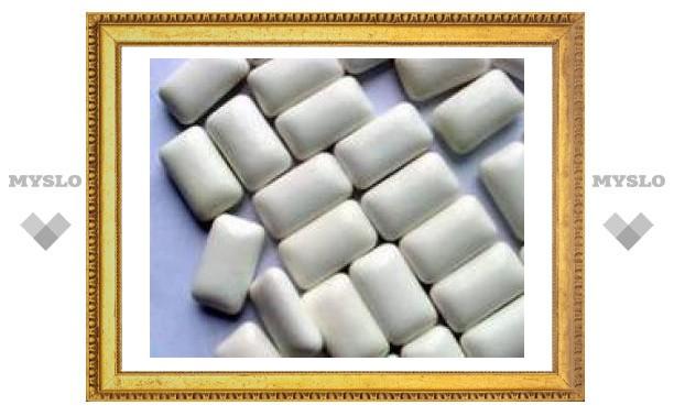Жвачка без сахара может вызывать потерю веса