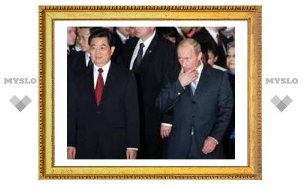 Россия и КНР подписали контрактов на 4,3 млрд долларов