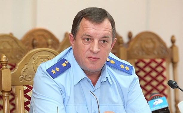 Олег Черныш получил звание «Заслуженный работник прокуратуры РФ»