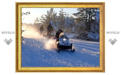 «Тульские медведи» на снегоходах выиграли Open Karelia – 2013