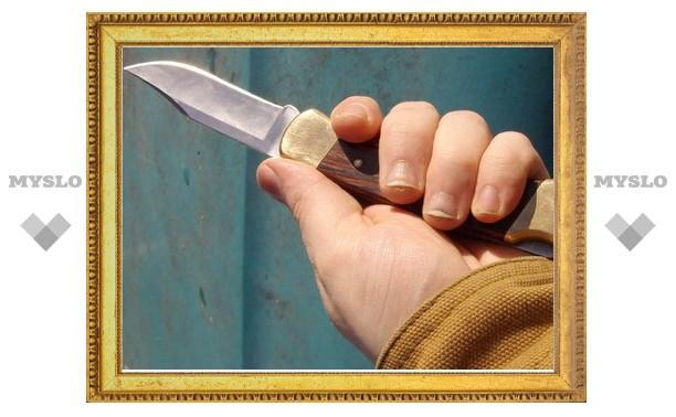 Житель Тульской области в пьяной разборке зарезал своего друга