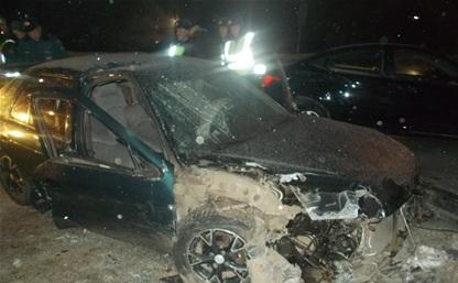 Водитель иномарки, налетевшей на отбойник в Туле, управлял машиной без прав