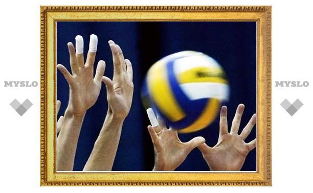 Тульские волейболисты определяют лучших