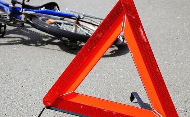 В Туле водитель сбил 14-летнюю велосипедистку и скрылся