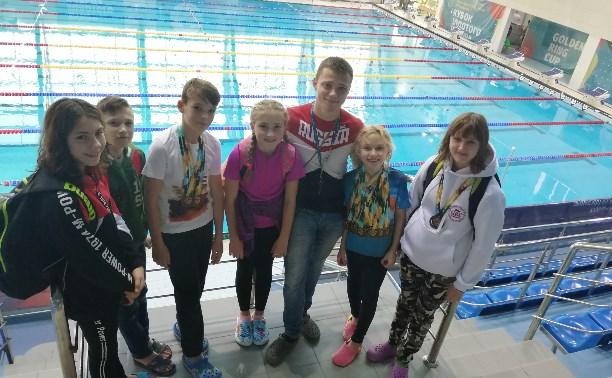 Ефремовские пловцы отличились на «Кубке Золотого кольца»
