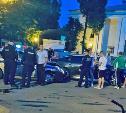 В Киреевске экипаж ДПС во время погони попал в аварию