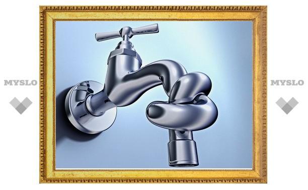 14 февраля в домах Привокзального района Тулы отключат воду