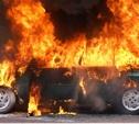 Ночью в Туле сгорел автомобиль