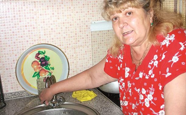 В Тульской области 11000 человек остались без горячей воды