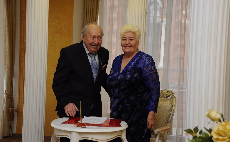 Тульская семейная пара Дубинских отметила 65-летие совместной жизни