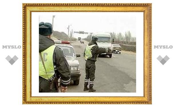 Под Тулой гаишники расстреляли машину пьяного водителя