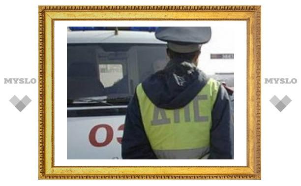 За сутки в Тульской области произошло 5 ДТП