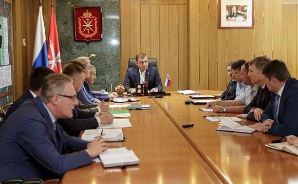 Алексей Дюмин взял на контроль ситуацию с ЖК «Октябрьский»