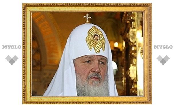 Патриарх Кирилл недоволен тем, как организована работа с паломниками в монастырях