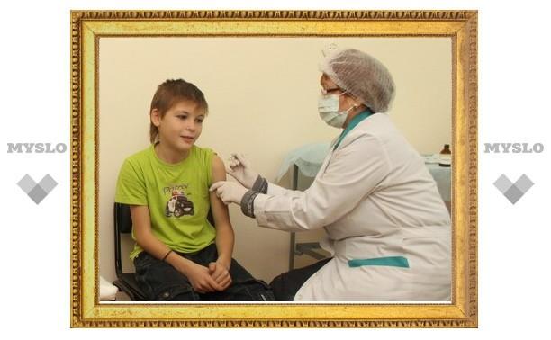 Более 60 тысяч детей привиты от гриппа