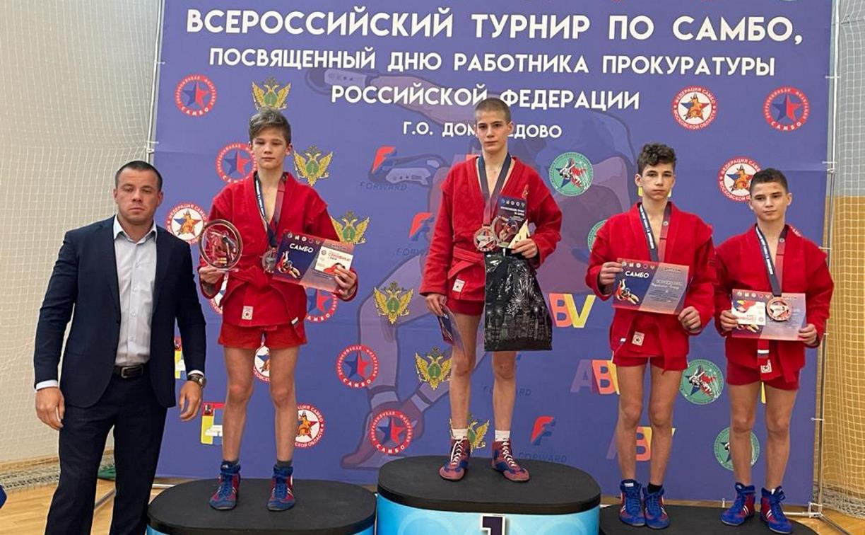 Тульские самбисты успешно выступили на Всероссийском турнире