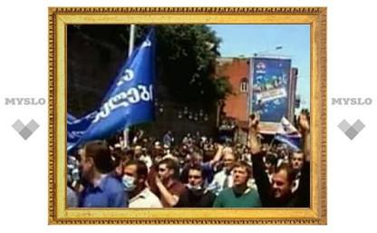 В Тбилиси начинается долгосрочный митинг