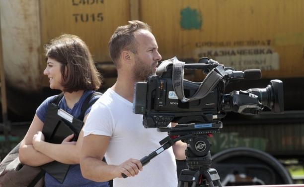 Команда Британской телекомпании BBC снимает Тулу