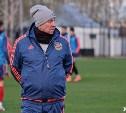 Сергей Павлов претендует на звание лучшего тренера ФНЛ в апреле