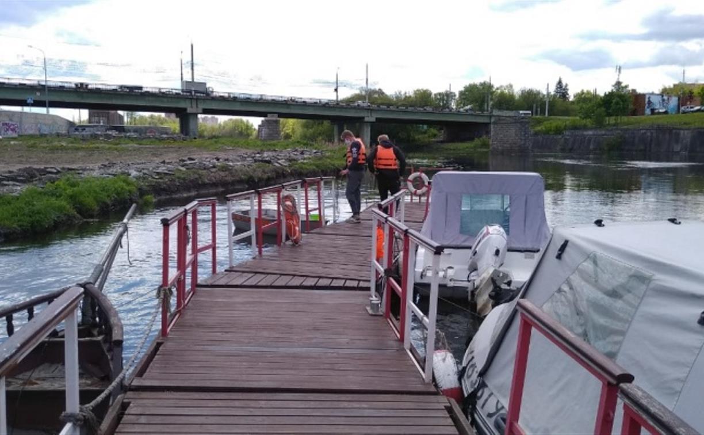 Тульская лодочная станция на Пролетарской набережной готова к открытию навигации