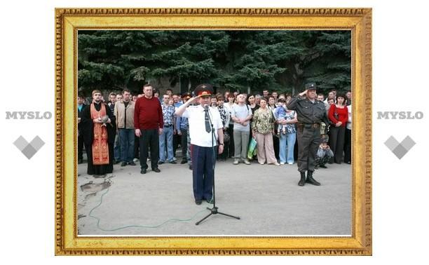 80 тульских милиционеров поехали в Чечню