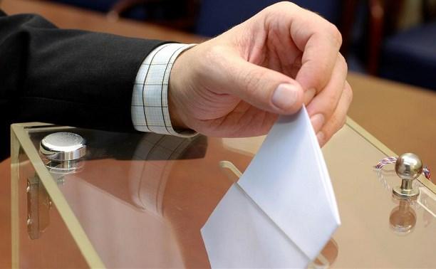 На 18.00 в Тульской области проголосовали почти 40% избирателей.