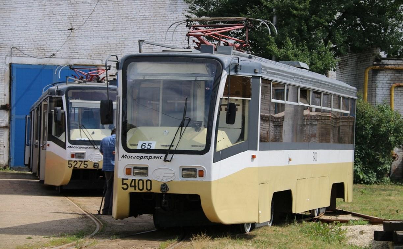В Тулу из Москвы передали 10 трамваев