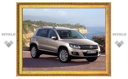 Объявлены российские цены на новый VW Tiguan