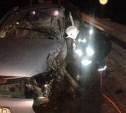 В Щёкинском районе водитель «Калины» пострадал в ДТП с грузовиком