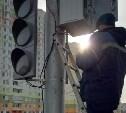 В Туле на улице Хворостухина установили новый светофор