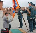 В тульском кремле Ришат Нуртдинов простился со знаменем