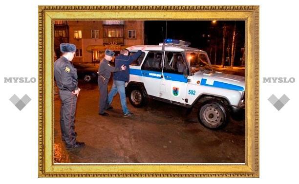 В Новомосковске задержана группа ночных грабителей