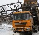 Веневское шоссе перекрыто из-за ремонта поврежденной в ДТП эстакады