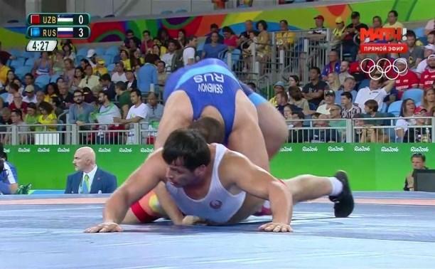 Тульский борец Сергей Семёнов пробился в полуфинал Олимпийских игр