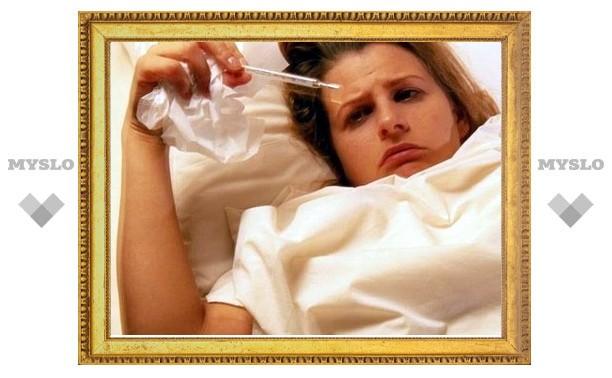 В Туле серьезно возросла заболеваемость гриппом и ОРВИ