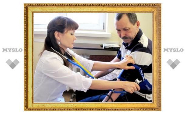 Тульская область испытывает нехватку квалифицированных врачей
