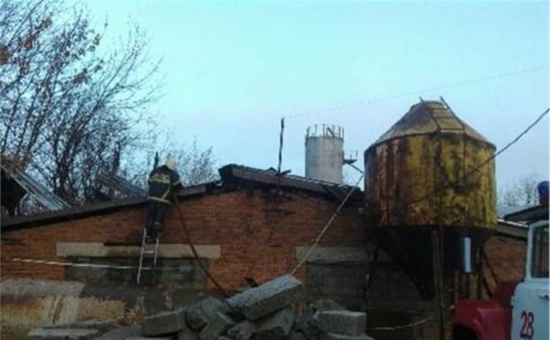 Из-за взрыва газа в Алексине пострадал человек