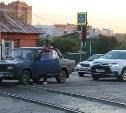 На улице Марата в Туле началась укладка верхнего слоя асфальта