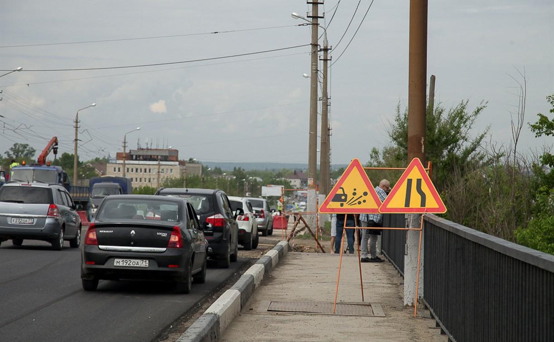 В Туле ремонтируют Павшинский мост