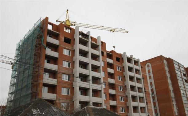 В Туле выросли темпы строительства жилья