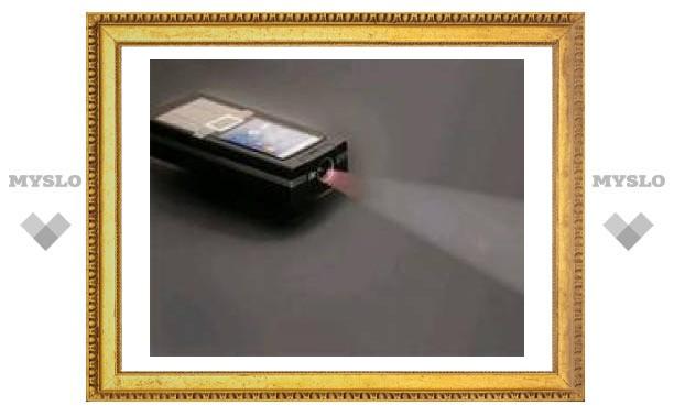 Texas Instruments создала проектор для мобильных телефонов