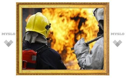 Под Тулой при пожаре погибла пенсионерка