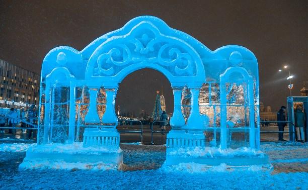 31 декабря на площади Ленина в Туле установят ледяные скульптуры