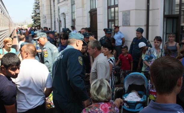 За сутки в Тулу прибыли 82 переселенца из Украины