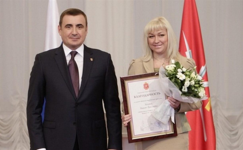 Алексей Дюмин наградил выдающихся граждан Тульской области