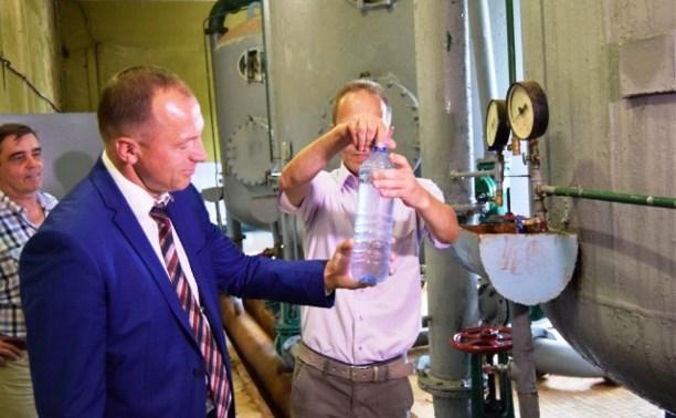 На Новолюбовском водозаборе запустили станцию обезжелезивания