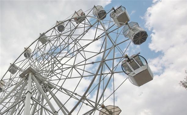 Корреспонденты Myslo прокатились на новом колесе обозрения