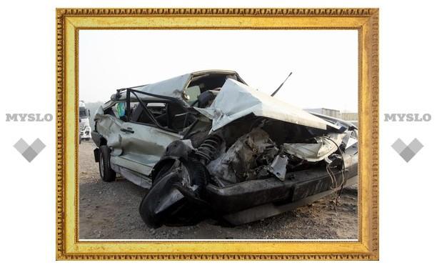 На трассе под Тулой произошла страшная авария