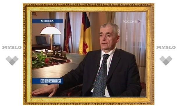 Онищенко предложил ограничить право родителей на отказ от вакцинации детей